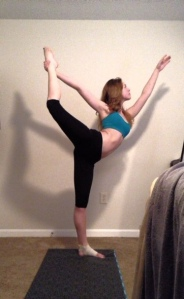 dancer pose 1