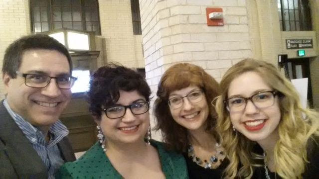 Laura's Family at the 2015 Minnesota Book Awards