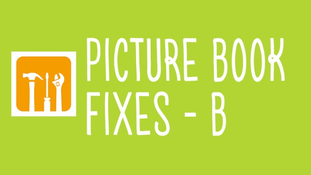 picture book fixes B thumbnail